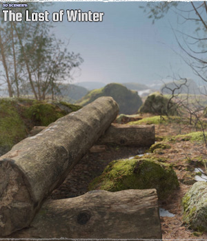 3D Scenery: The last of Winter 3D Models ShaaraMuse3D