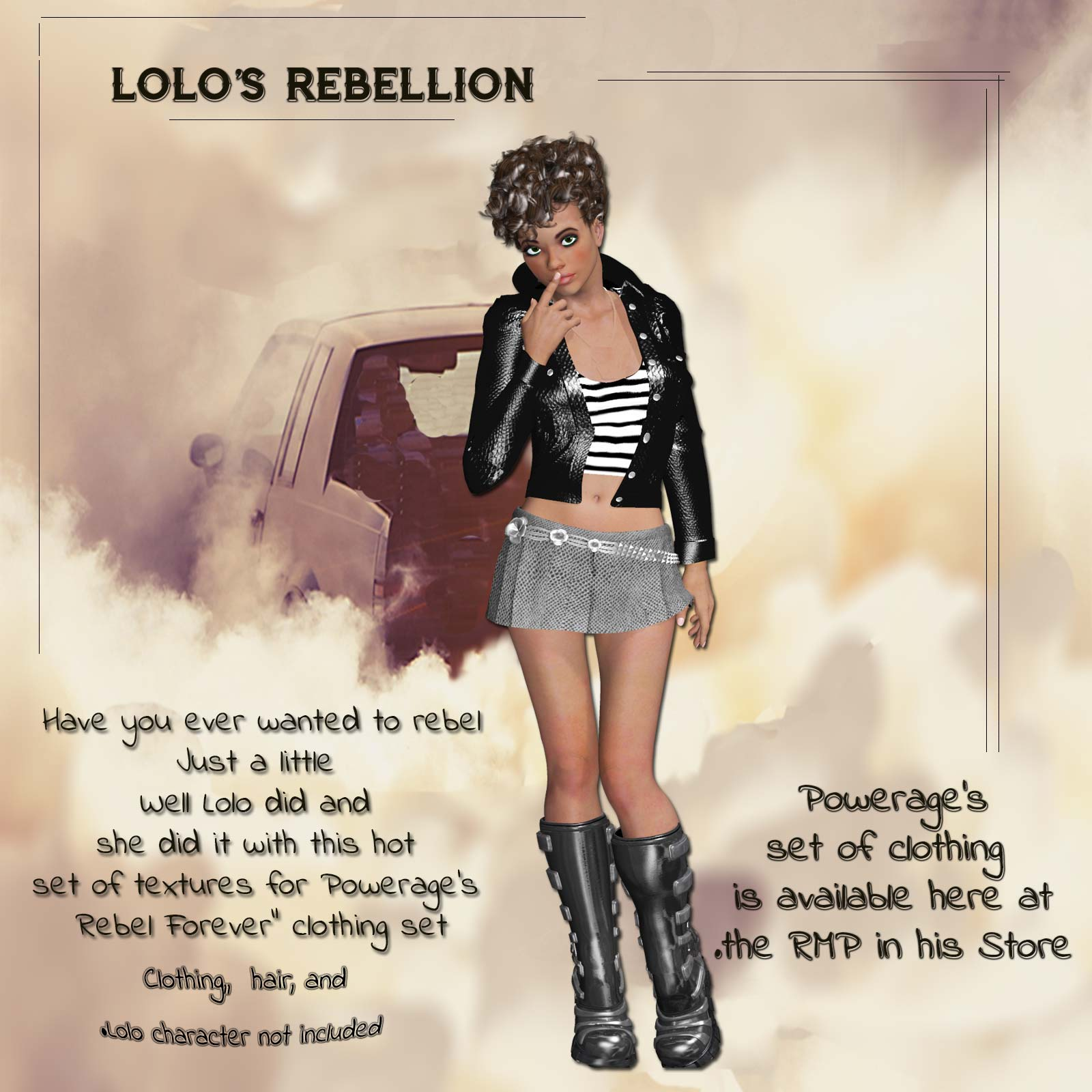 Lolos Rebellion for Victoria 4