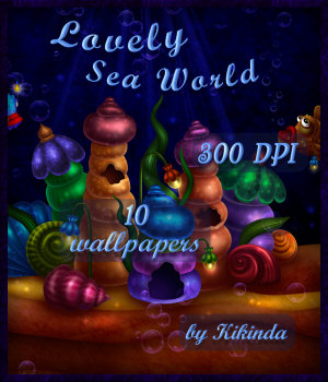 Lovely Sea World Wallpapers 2D Graphics kikinda