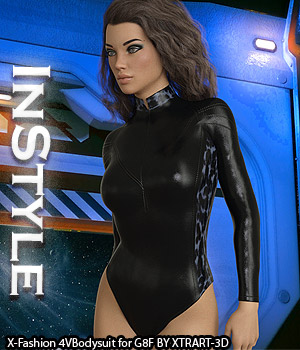 InStyle - X-Fashion 4VBodysuit for Genesis 8 Females 3D Figure Assets -Valkyrie-