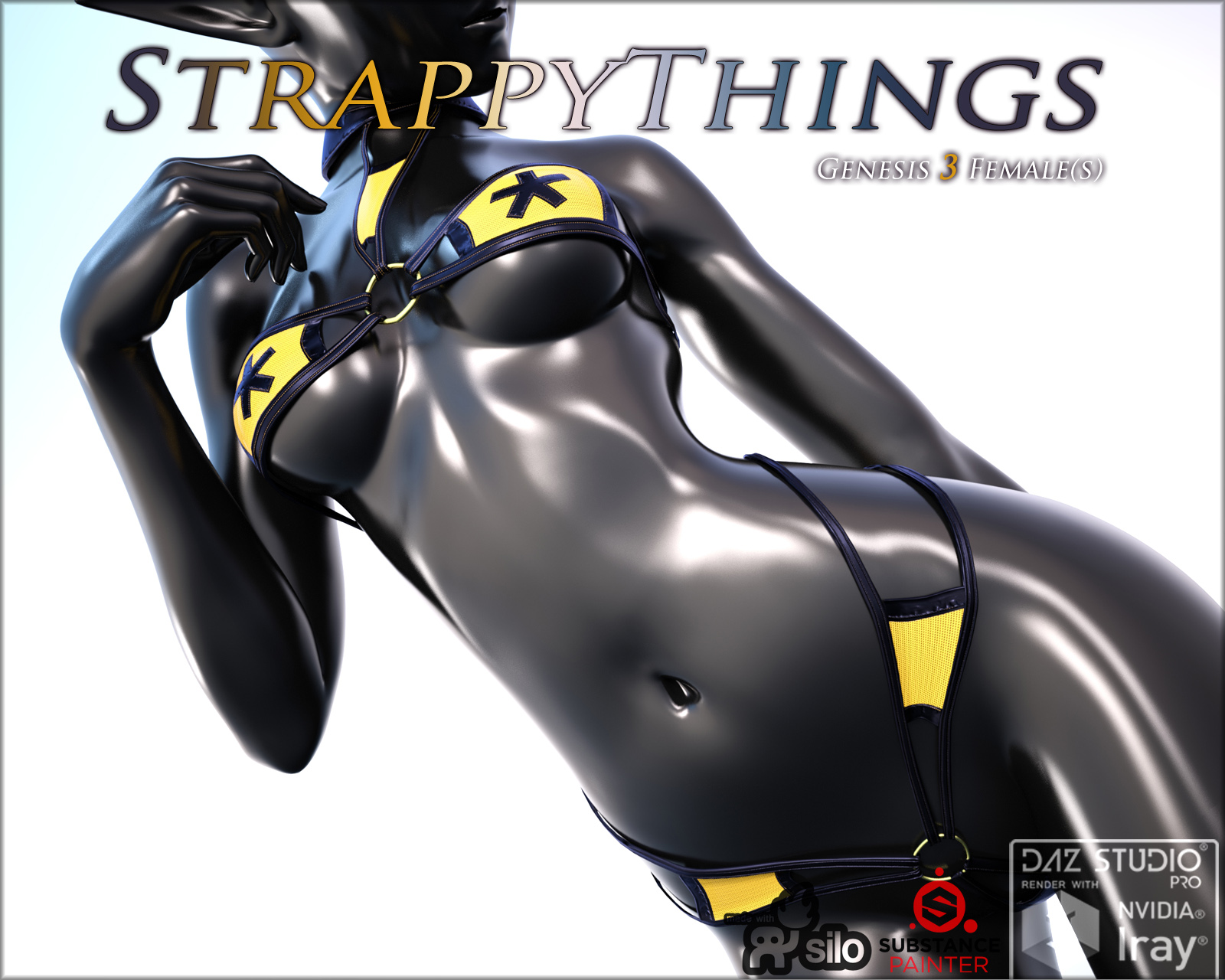 StrappyThings for Genesis 3 Females
