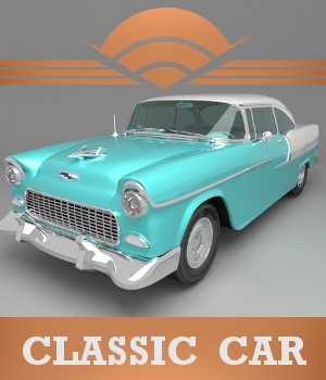 Classic Car 3D Models TruForm