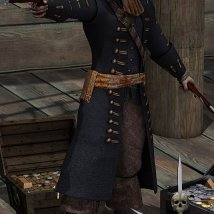 The Cap'n Outfit & Props for M4 image 2