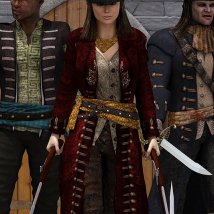 Scarlett Outfit and Props for V4 image 9