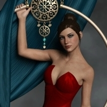 Cerceau Poses & Props for G3F and G8F image 3