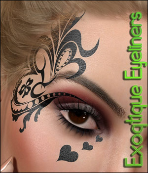 TMHL Exotique Eyeliners MR 2D Graphics Merchant Resources TwiztedMetal