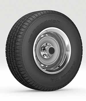 Wheel and tire 8 - Extended Licence 3D Models nnavas