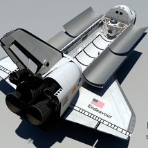 Endeavour Space Shuttle - Extended License image 3