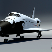 Endeavour Space Shuttle - Extended License image 8