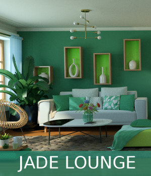 Jade Lounge 3D Models TruForm