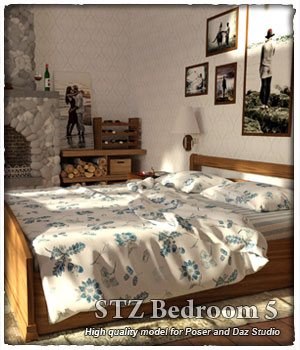STZ Bedroom 5  3D Models santuziy78