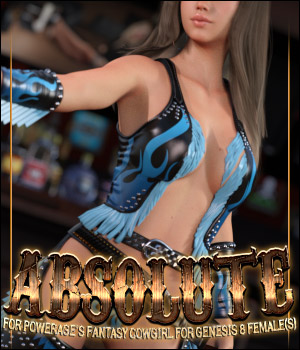 Absolute for Fantasy CowGirl for G8 Females 3D Figure Assets ShanasSoulmate