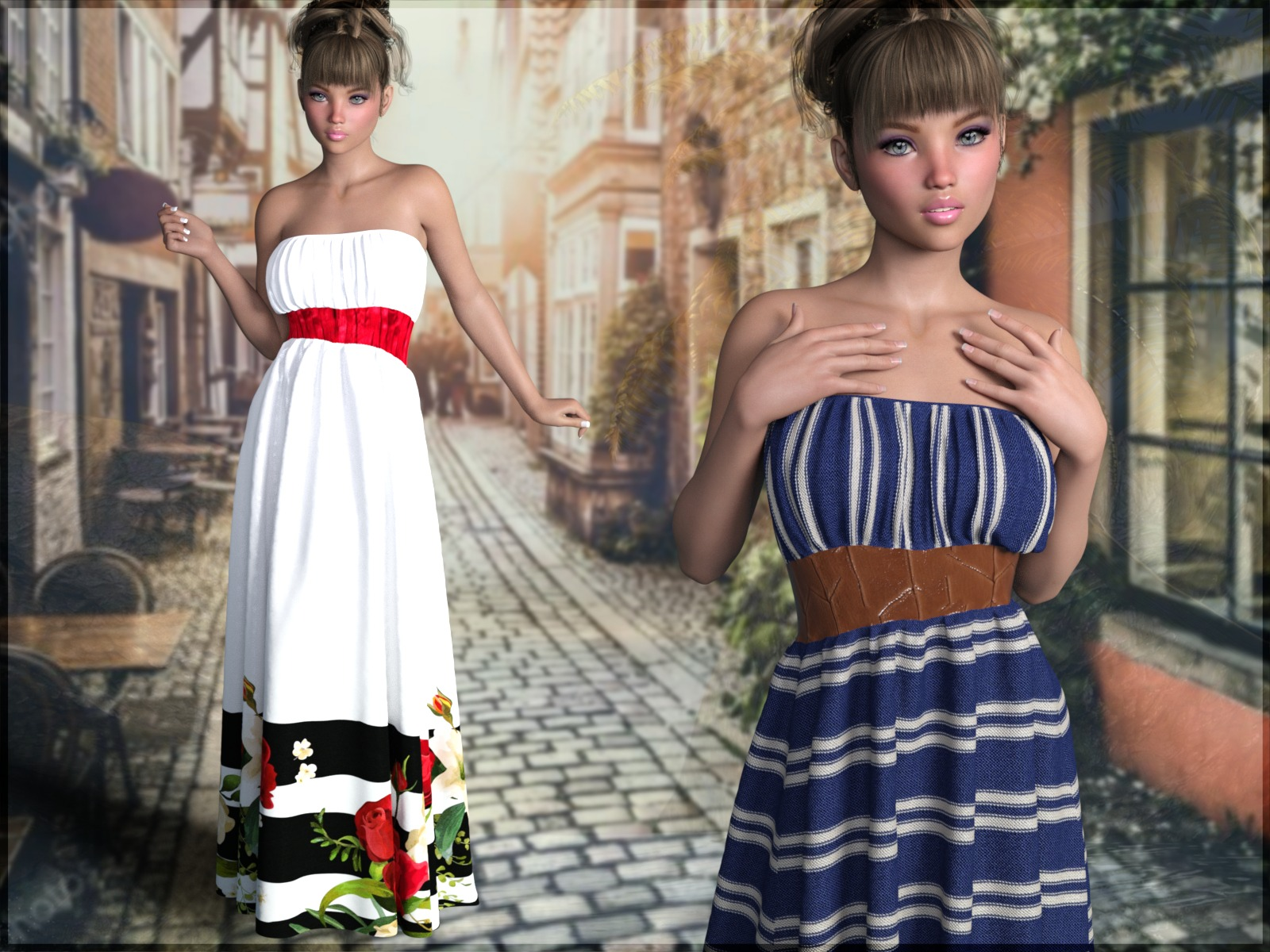 7th Ave: dForce - Fabulous Dress for G8F