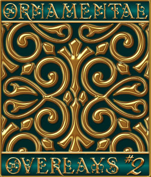 Ornamental Seamless Overlays Set #2 2D Graphics Merchant Resources fractalartist01