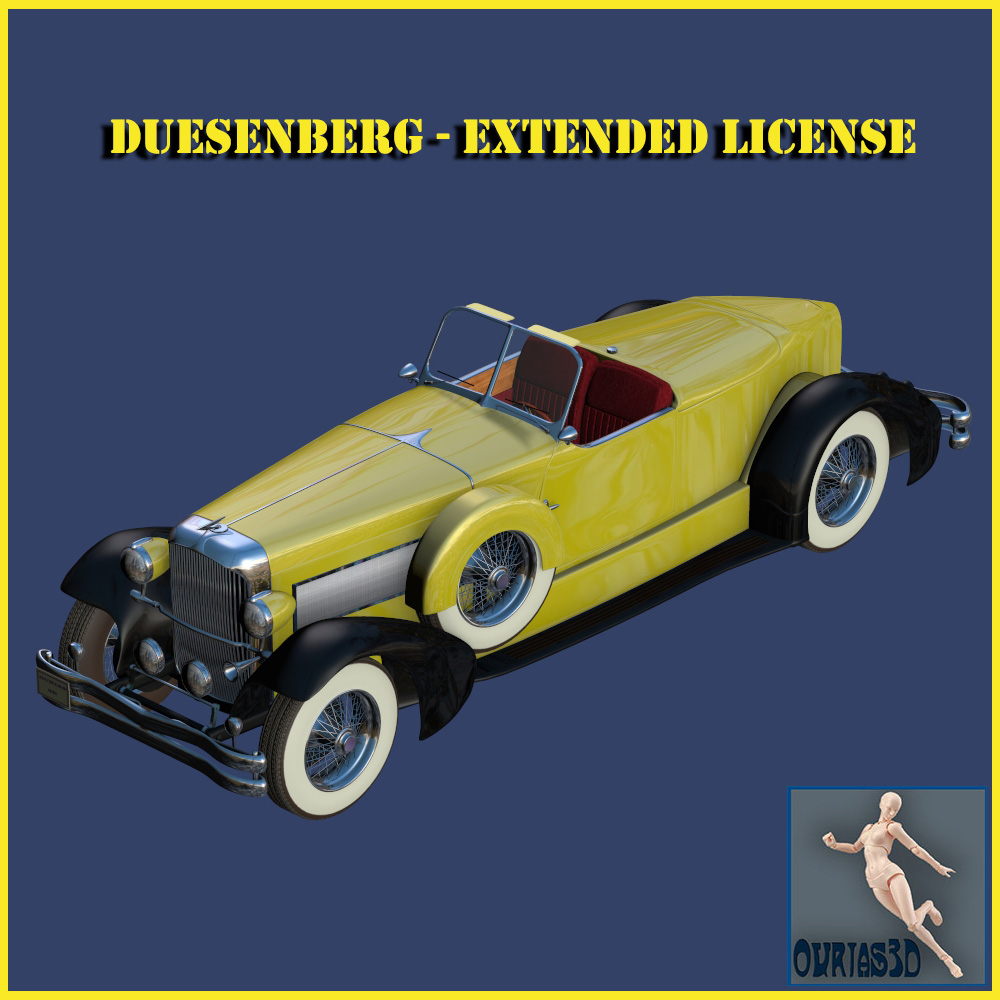 Duesenberg Extended License by Ourias3D
