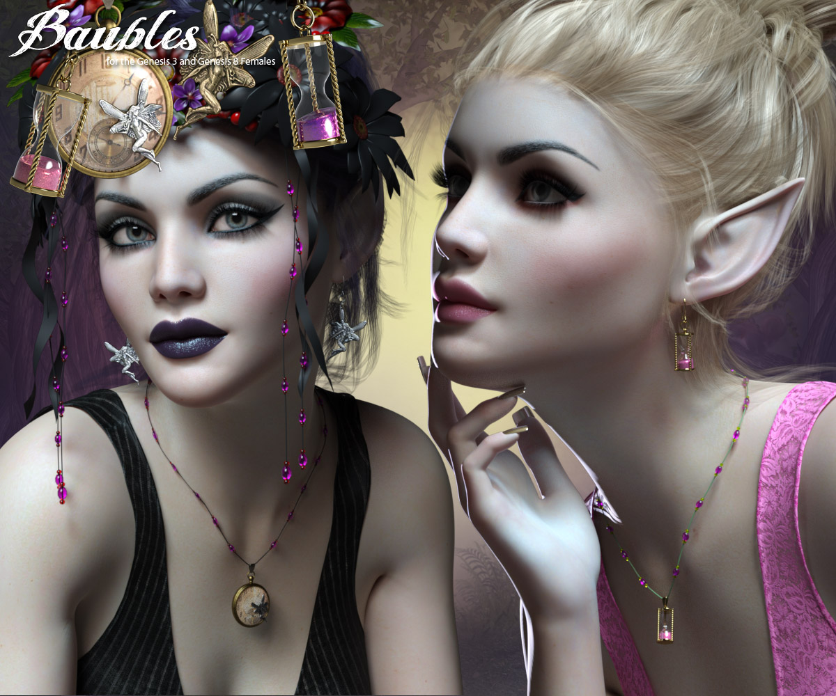RP Baubles for the G3 and G8 Females