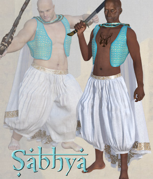 Sabhya dynamic for M4 and Poser 3D Figure Assets Tipol