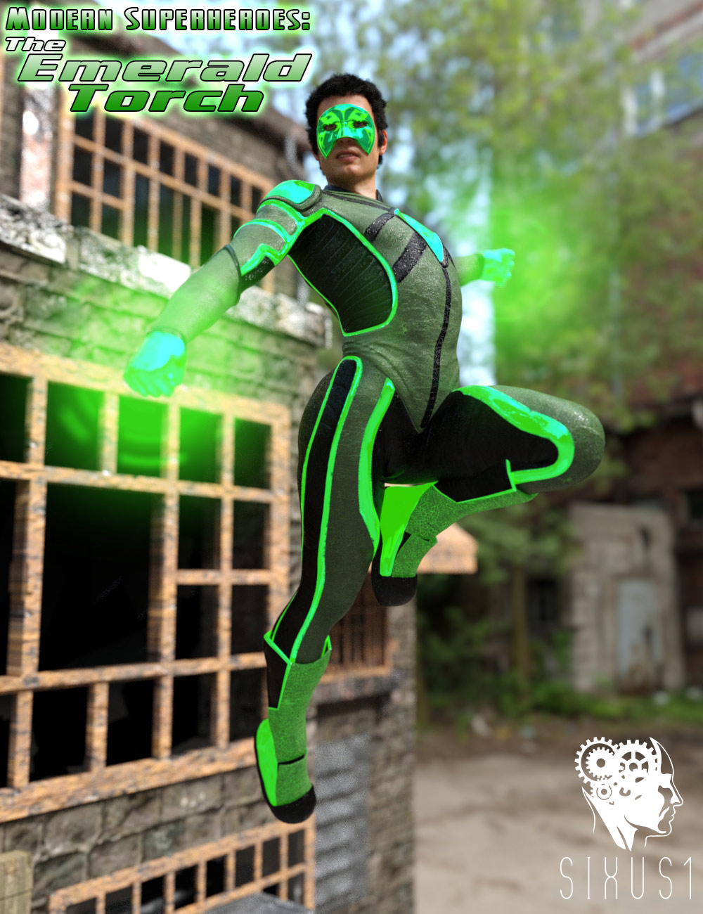 Modern Superheroes: The Emerald Torch for G8M