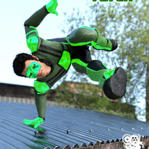Modern Superheroes: The Emerald Torch for G8M image 3