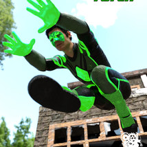 Modern Superheroes: The Emerald Torch for G8M image 5