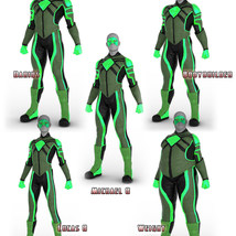 Modern Superheroes: The Emerald Torch for G8M image 8
