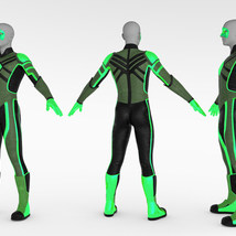 Modern Superheroes: The Emerald Torch for G8M image 9