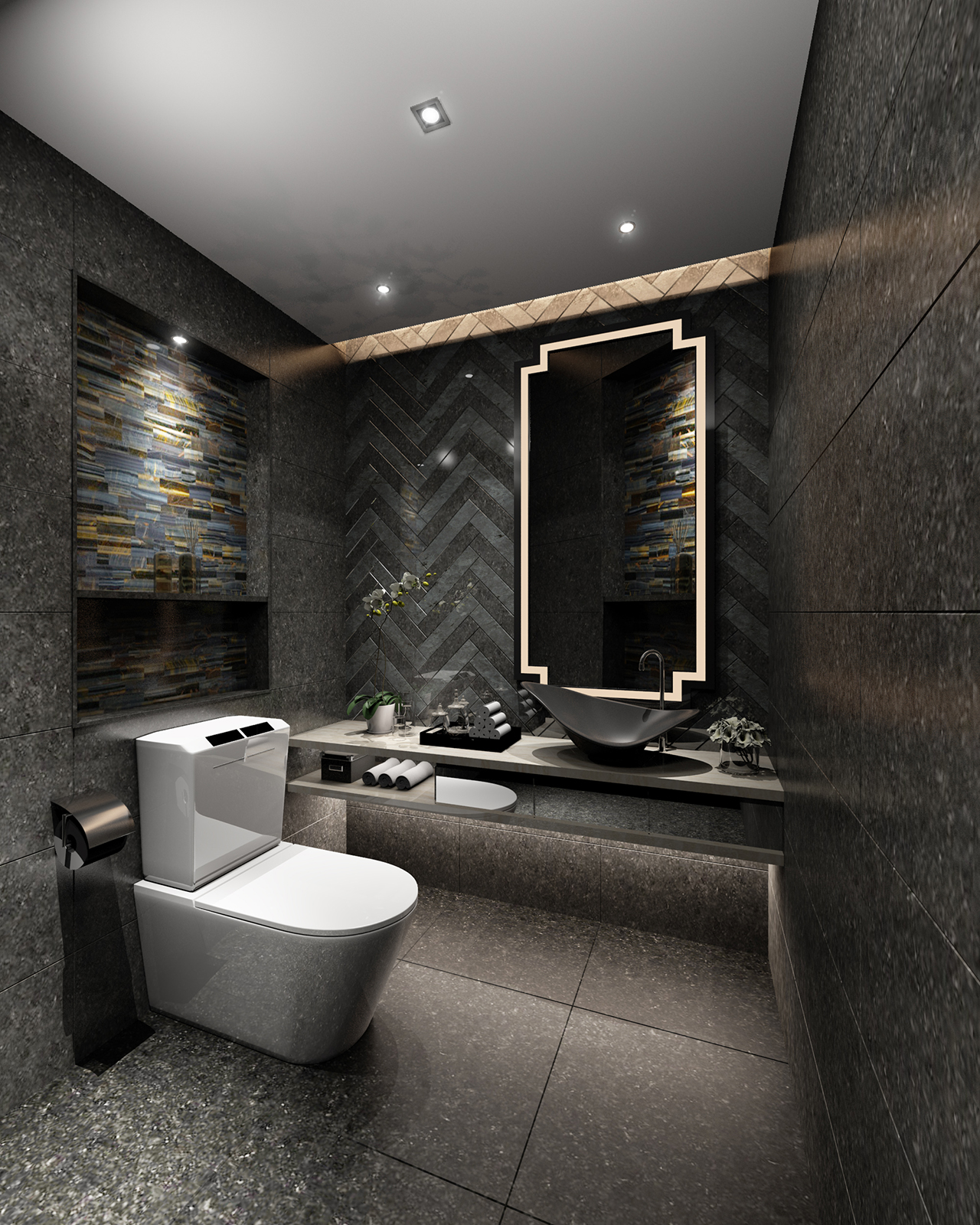 BATHROOM  01 - Extended License