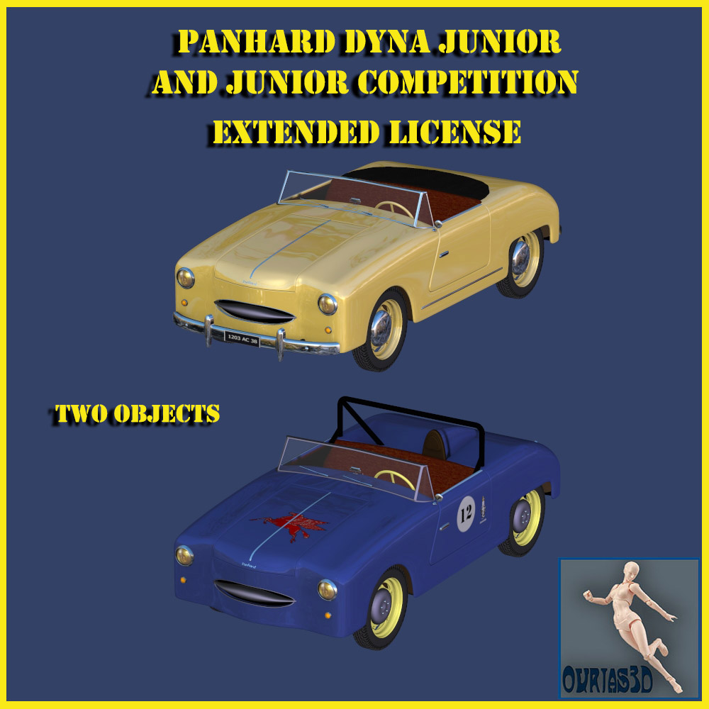 Panhard Dyna Junior and Panhard Dyna Junior competition - Extended license