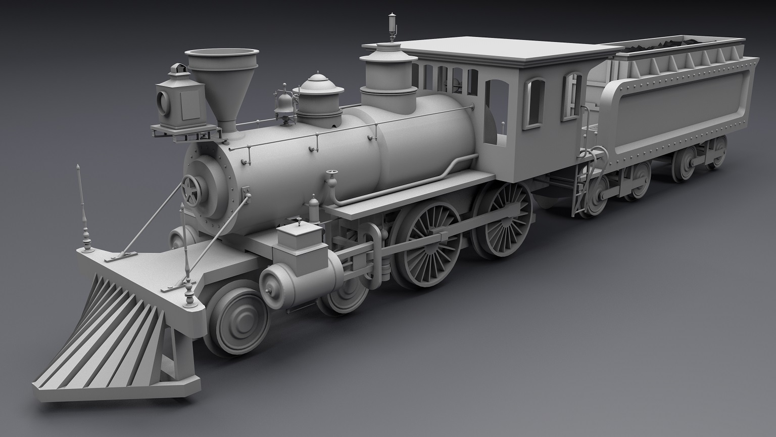 Old Steam Locomotive - Extended License
