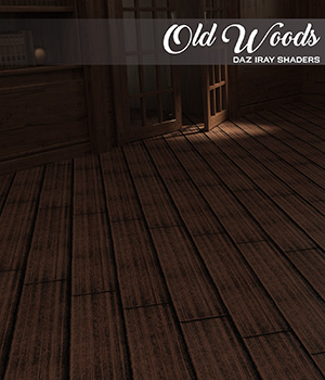 DAZ Iray - Old Woods 2D Graphics Merchant Resources Atenais