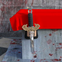 Exceptional Gothic Candle Holder scene for Daz3d Iray image 5