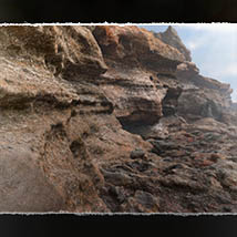 3D Scenery: Volcanic Caves and Cliffs for Poser and Daz Studio image 3
