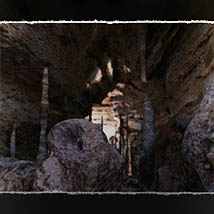 3D Scenery: Volcanic Caves and Cliffs for Poser and Daz Studio image 7