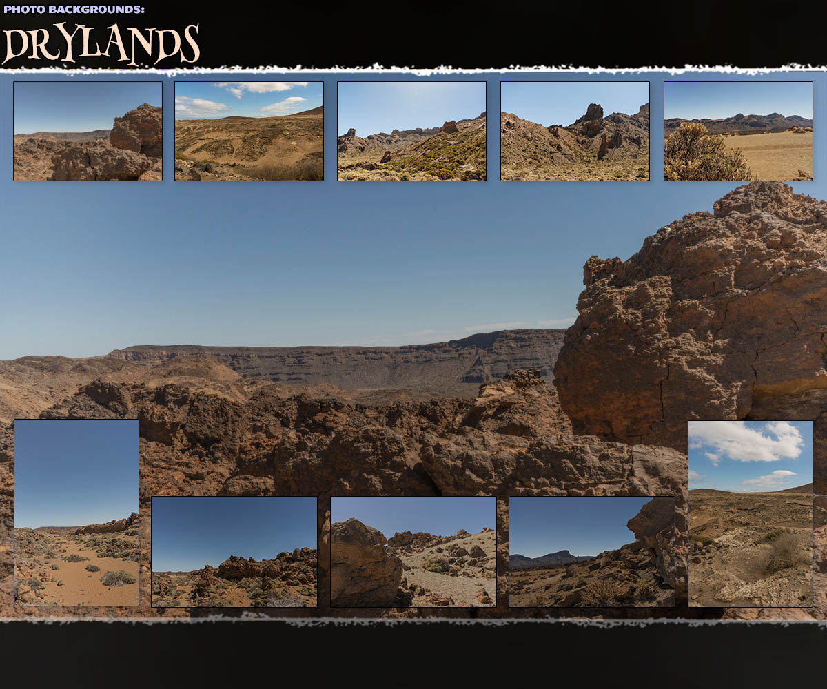 Photo Backgrounds: Drylands
