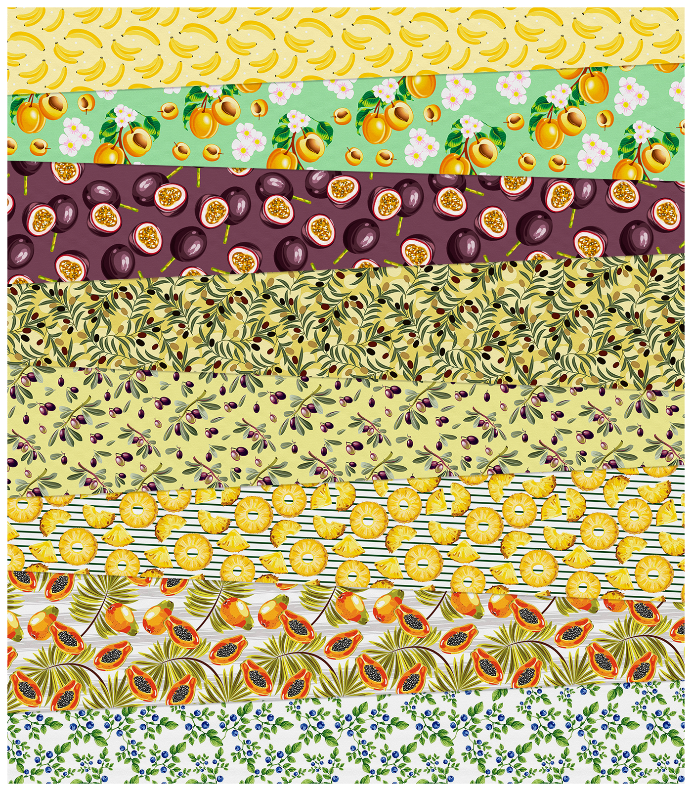 Fruit Fabric Prints