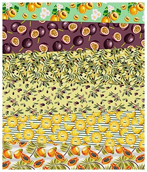 Fruit Fabric Prints 2D Graphics Merchant Resources Medeina