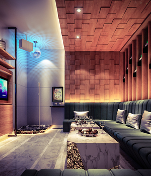 KARAOKE-BAR 01 - Extended License 3D Game Models : OBJ : FBX 3D Models Extended Licenses ventaarchviz