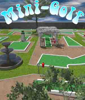MiniGolf Course 3D Models BionicRooster