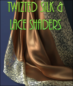 Twizted Silk & Lace Shaders 3D Figure Assets TwiztedMetal
