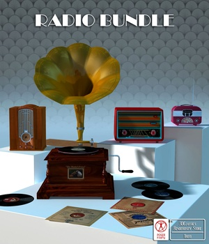 RADIO BUNDLE 3D Models 3DClassics