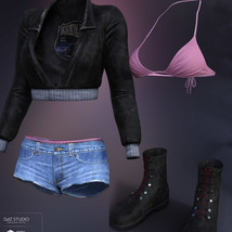 Freestyle Outfit for Genesis 8 Females image 5