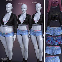 Freestyle Outfit for Genesis 8 Females image 7