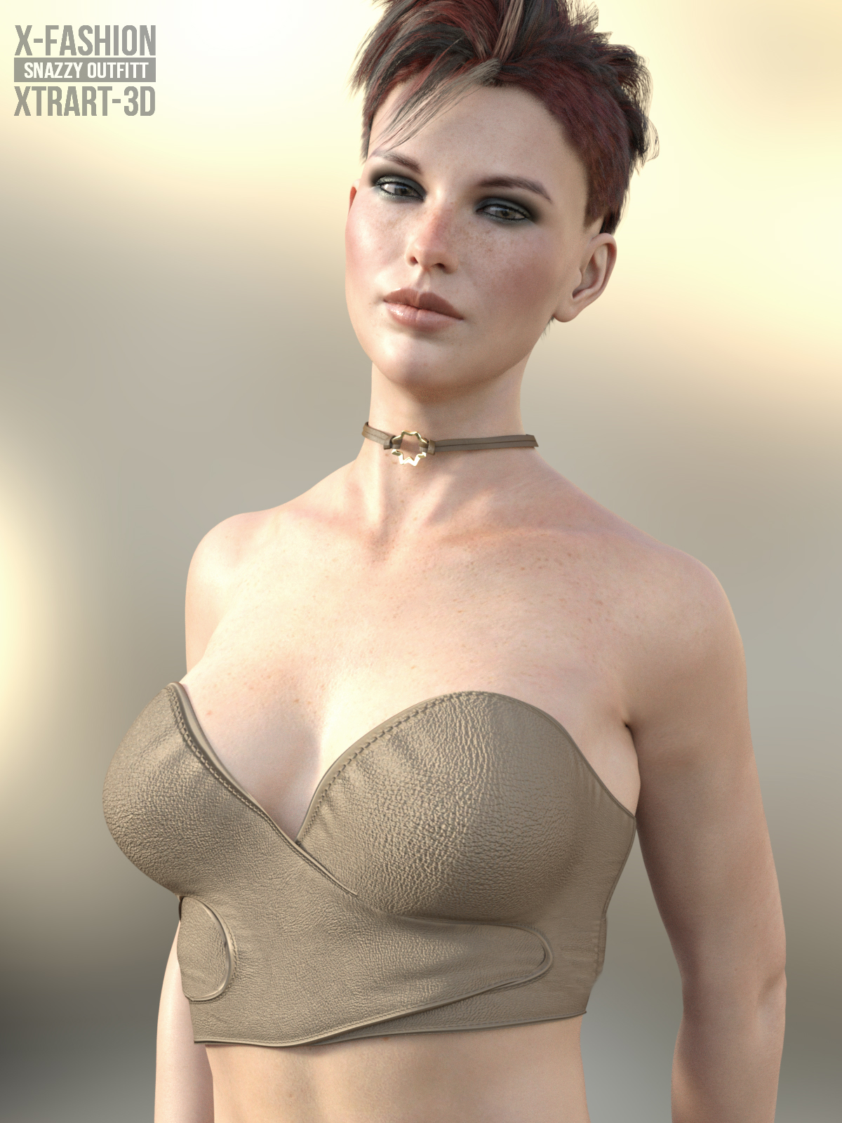 X-Fashion Snazzy Outfit for Genesis 8 Female