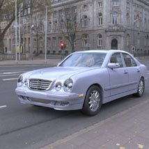 Mercedes Benz E-320 2000 3ds and obj - Extended License image 3