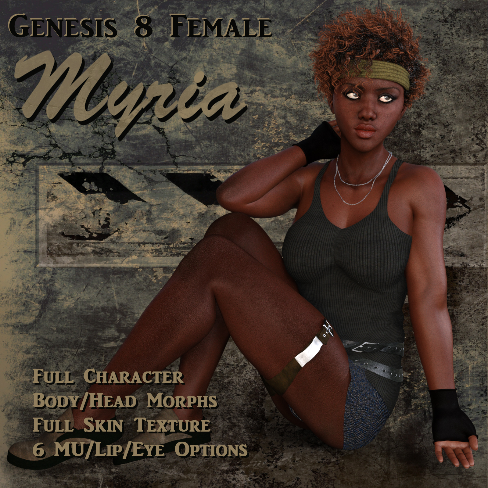 Myria for Genesis 8 Female