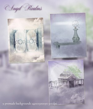 Angel Realms Background Images 2D Graphics VanishingPoint