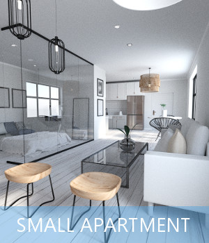 Small Apartment 3D Models TruForm