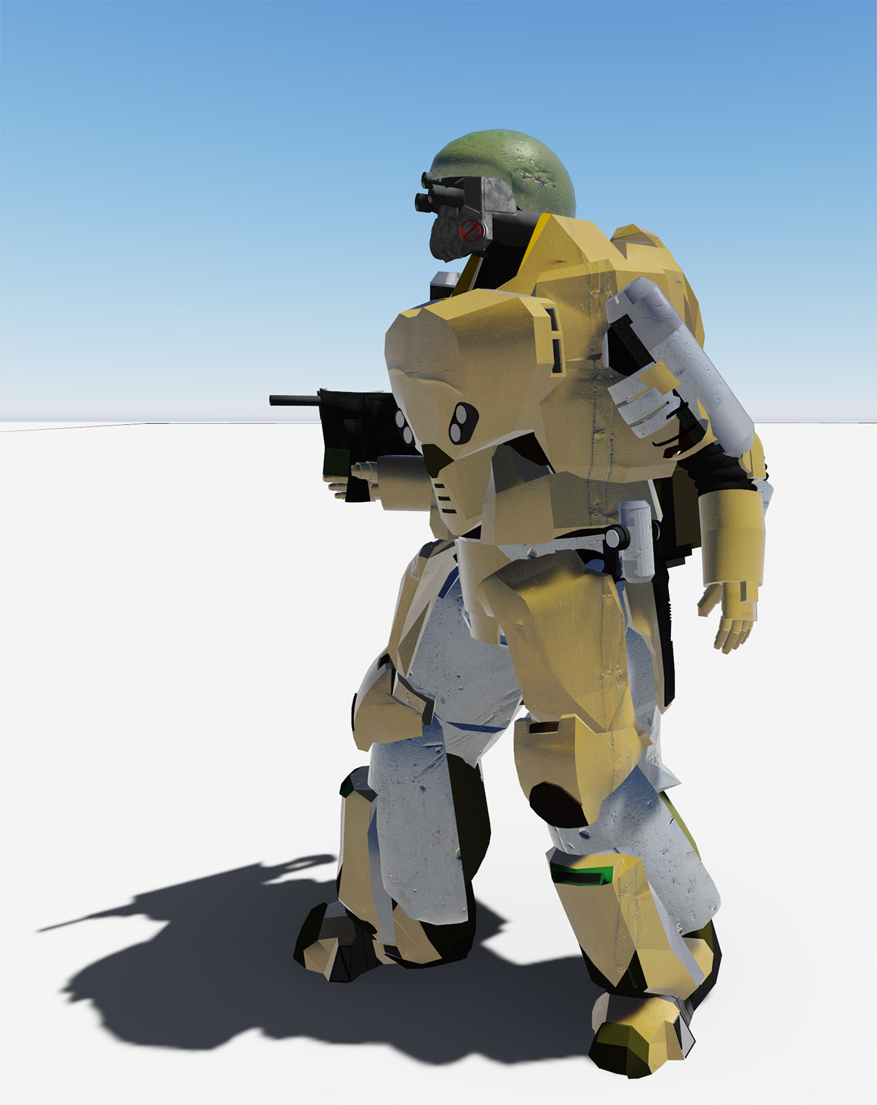 Army robot - Extended Licence by rafaelbalta