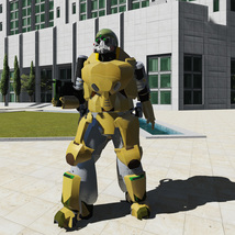 Army robot - Extended Licence image 1