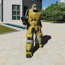 Army robot - Extended Licence image 3